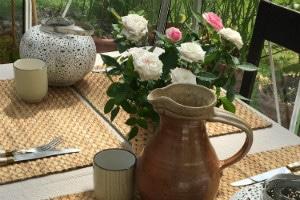 Table d hote avec cuisine ayurvedique