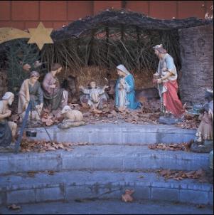 Creche de Noel et culture indienne vedique