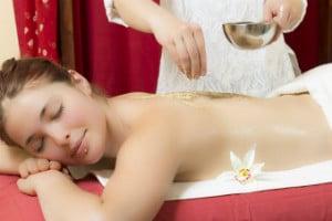 Massage a sec Udvartana