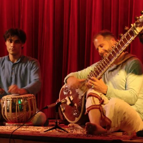Concert de sitare a Verrieres le Buisson