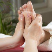 Massage du pied et du mollet Paris