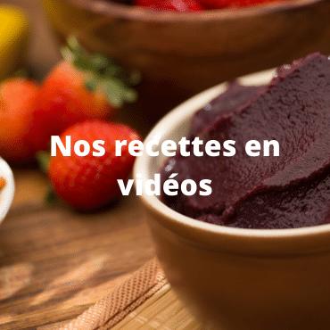 nos recettes en video
