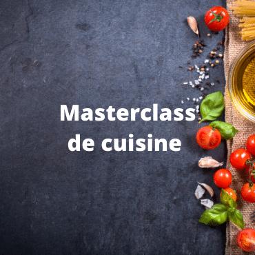 Masterclass cuisine vegetarienne et vegan