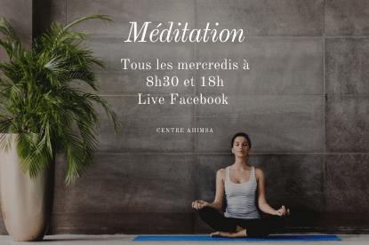 Live de meditation de pleine conscience